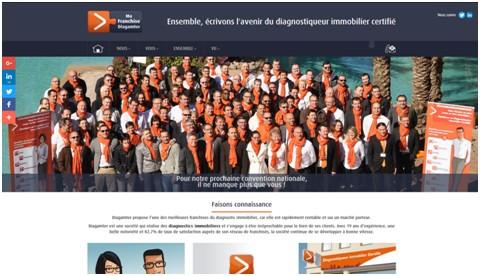 nouveau site web DIAGAMTER dédié à la franchise