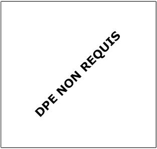 DPE non requis