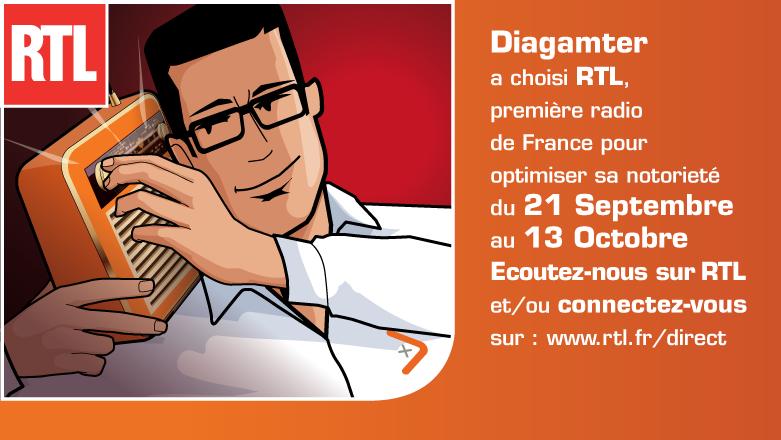 Diagamter campagne radio RTL septembre 2015