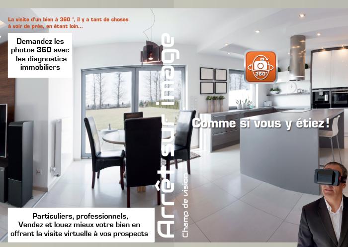 visite virtuelle 360° d'un bien immobilier
